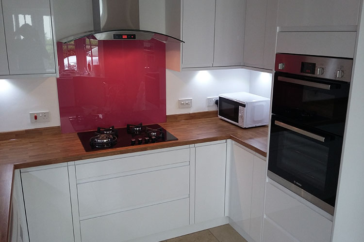 Benchmarx Handleless High Gloss Kitchen